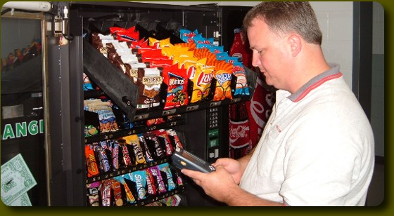 Services Snack Vending Machine